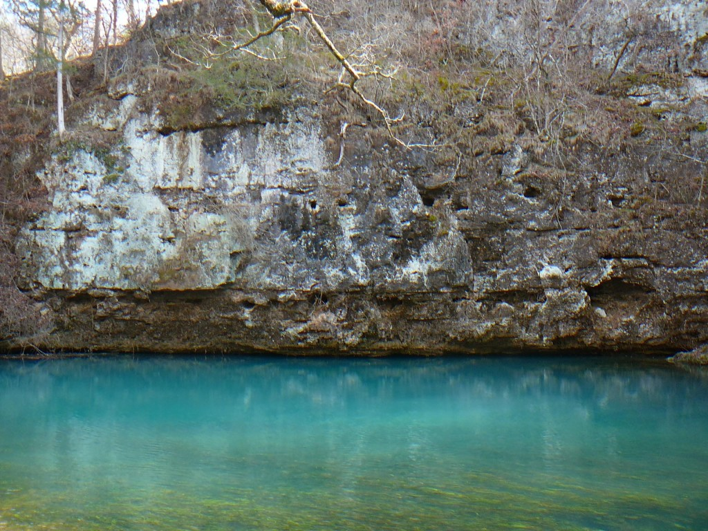 Daylight photo of Blue Spring
